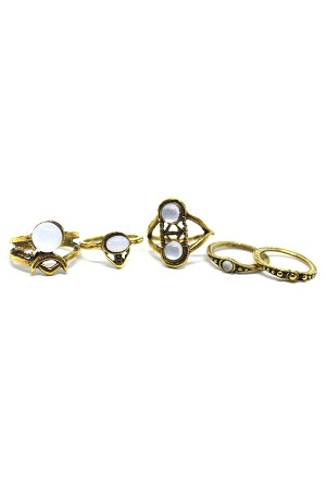 Gretchen Rings Set of 5