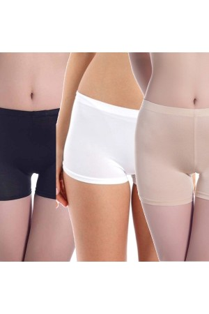 Seamless Safety Shorts - Pack of 3