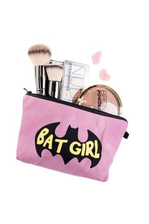 Bat Girl Makeup Bag