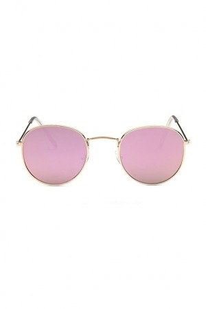 Round Pink Reflectors