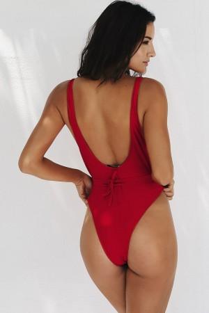 Scarlett Rouge Monokini