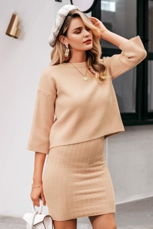 Carol Knitted Pullover + Dress