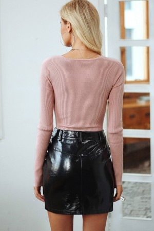 Lucia Cross Knitted Pullover