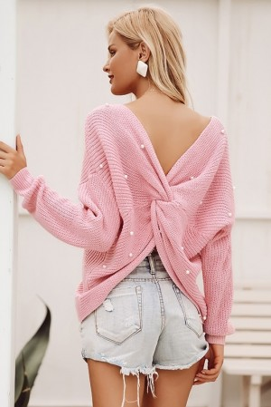 Pearline Rosè Jumper